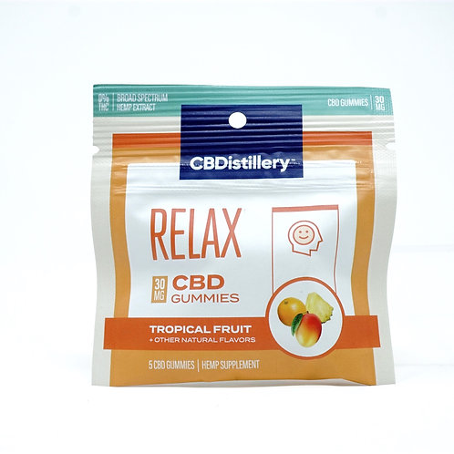 CBDistillery 30mg/5ct Gummies Day/Relax