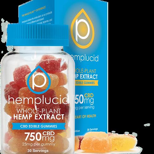 Hemplucid 750mg/30ct Full Spectrum Gummies