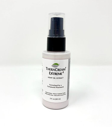 TheraCream Extreme 2oz - 400mg CBD