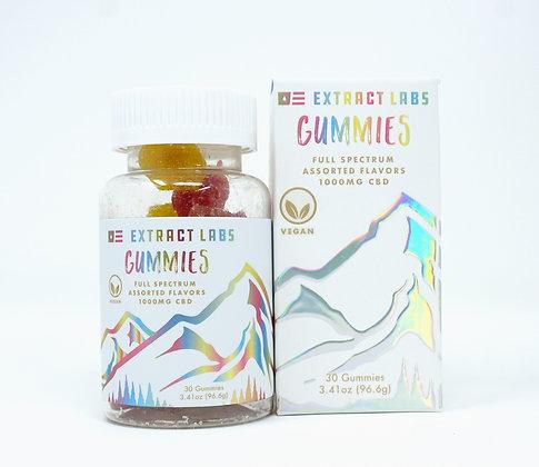 Extract labs 1,000mg Full Spectrum Gummies