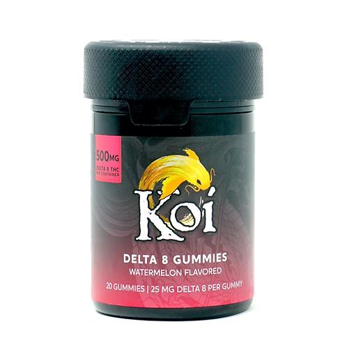 Koi 25mg/20ct Delta-8 Gummies Watermelon