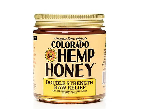 Colorado Hemp Honey 1000mg/6oz Full Spectrum Jar Double Strength Raw