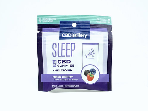 CBDistillery 30mg/5ct Gummies Night/Sleep
