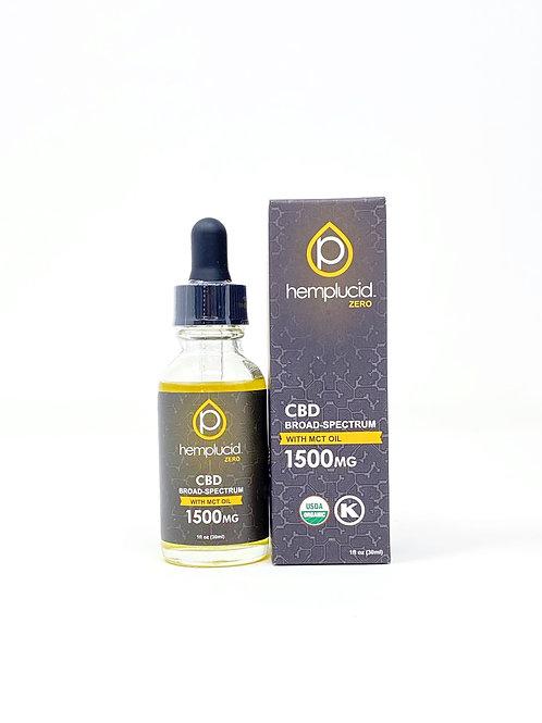 Hemplucid 1500mg Broad Spectrum Oil