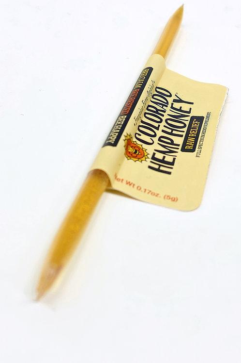 Colorado Hemp Honey 15mg Full Spectrum Stick Raw Relief