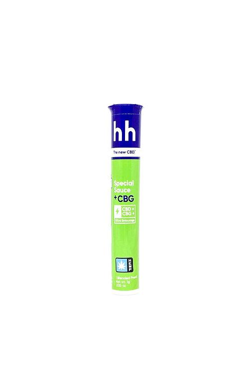 HHemp 1g CBG:CBD Full Spectrum Pre-Roll Special Sauce