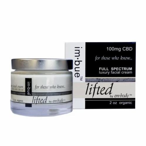 Im-Bue 100mg/2oz Full Spectrum Lifted Luxury Face Cream