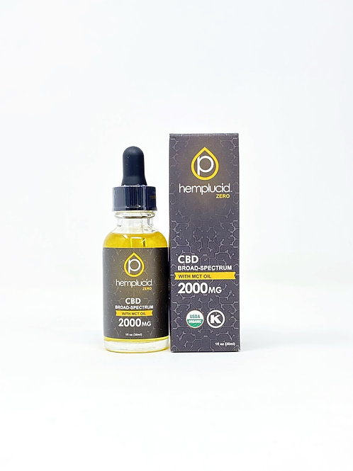 Hemplucid 2000mg Broad Spectrum Oil