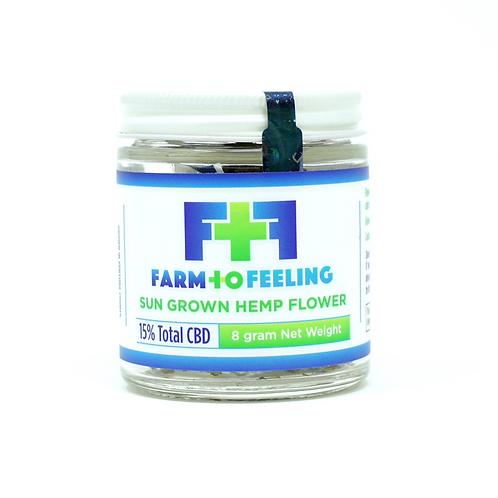 Farm to Feeling 8g Hemp Flower Sun-Grown