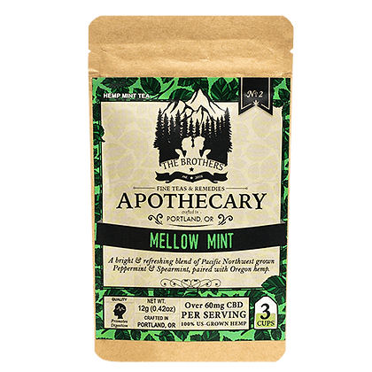 Apothecary 180mg Mellow Herbal Mint Tea