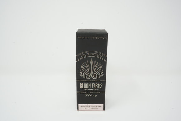 Bloom Farms 1200 mg Recover CBD Tincture Full Spectrum