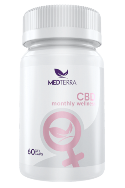 Medterra 750mg/60ct Capsules Women's Monthly Wellness