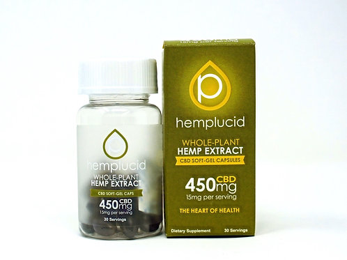 Hemplucid 450mg/30ct Full Spectrum Capsules