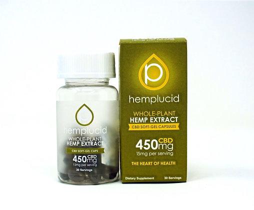 Hemplucid 450mg Full Spectrum Capsules