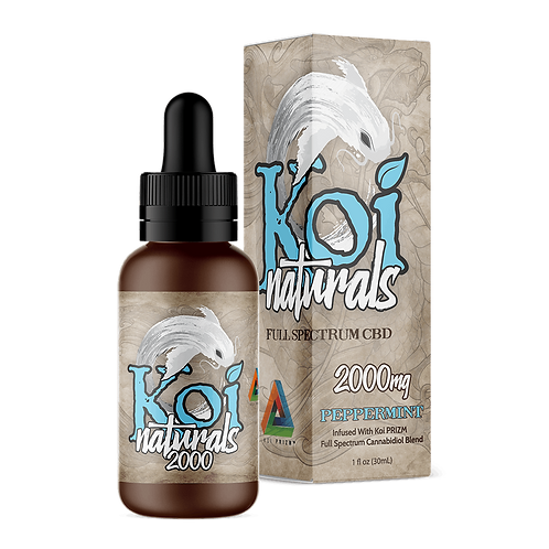 Koi 2000mg Broad Spectrum Oil Peppermint