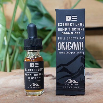 Extract Labs 500mg Full Spectrum 15ml Oil