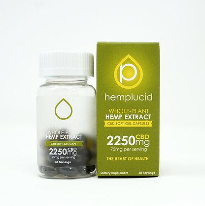Hemplucid 2,250mg Full Spectrum Capsules