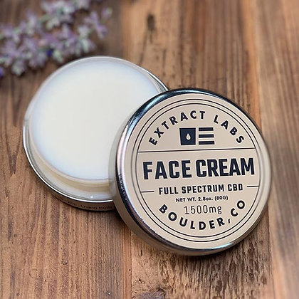 Extract Labs 1,500mg Full Spectrum Face Cream