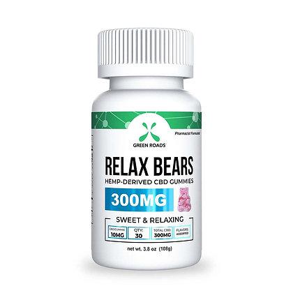 Green Roads Relax Bears 30ct- 300mg CBD