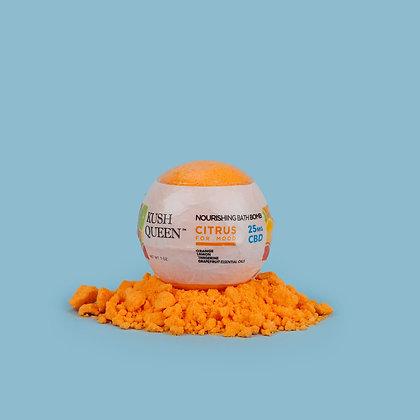 Kush Queen 25mg 'Citrus for Mood' Bath Bomb