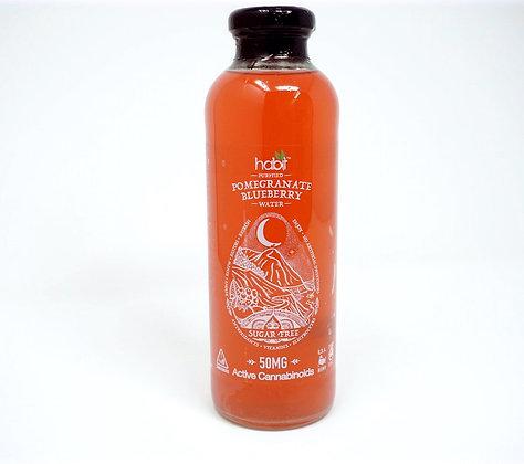 Habit 50mg Pomegrante Blueberry Water
