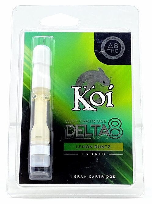 Koi 1g Delta-8 Vape Cartridge Hybrid Lemon Runtz