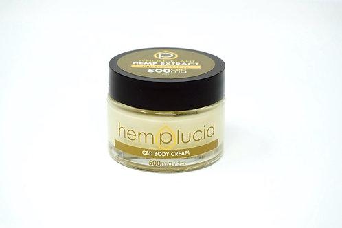 Hemplucid 500mg Full Spectrum Body Cream