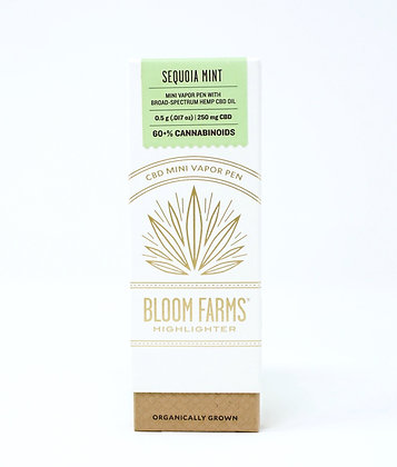 Bloom Farms Sequoia Mint 250mg Disposable Pen