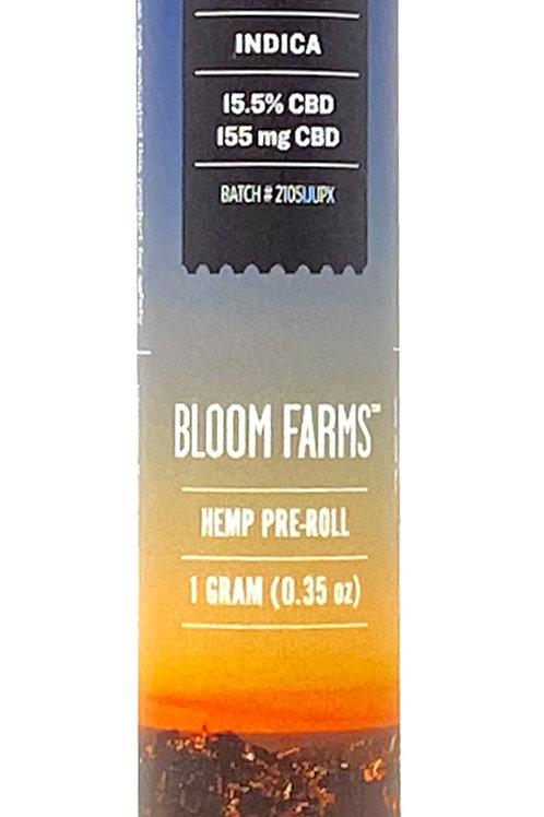 Bloom Farms 1g Full Spectrum Pre-Roll Indica Jupiter