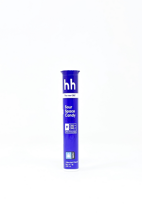 HHemp 1g CBG:CBD Full Spectrum Pre-Roll Sour Space Candy