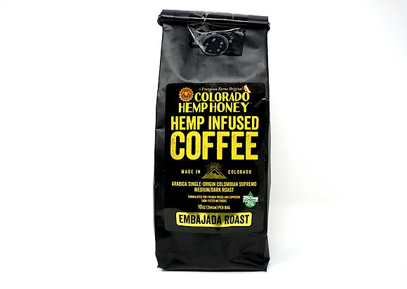 Colorado Hemp Honey Infused 10oz Coffee