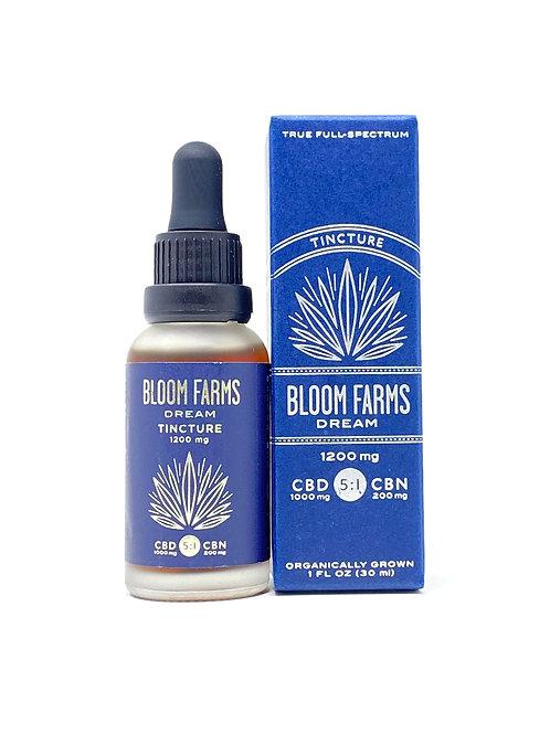 Bloom Farms 1200mg 5CBD:1CBN Full Spectrum Oil Dream