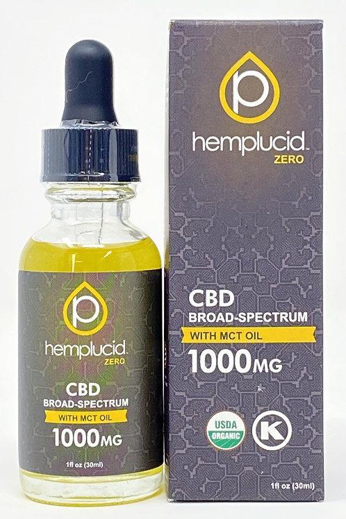 Hemplucid 1000mg Broad Spectrum Oil