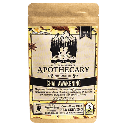 Apothecary 180mg Chai Awakening Tea