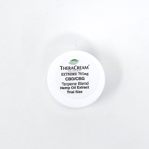 TheraCream Extreme Trial/.25oz Broad Spectrum Lotion Peppermint
