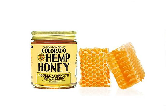 Co Hemp Honey Double Strength Raw Jar- 1000mg