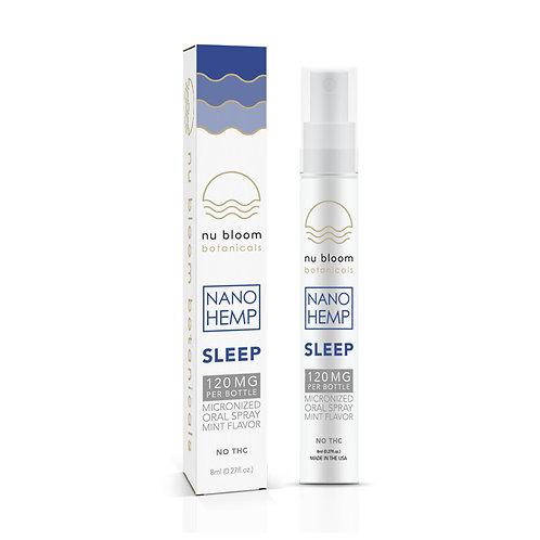 Nu Bloom 120mg Oral Nano Spray Sleep