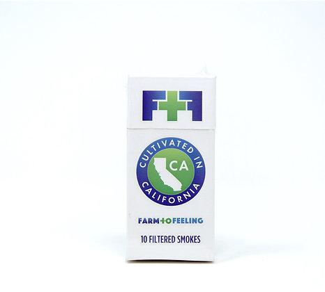 Farm To Feeling 10 pack Premium Hemp Smokes