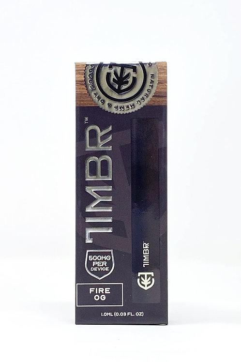 Timbr 500mg/1g Full Spectrum Disposable Vape Fire OG