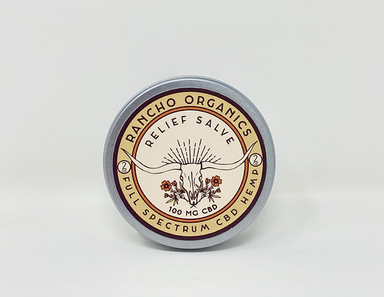Rancho Organics 100mg Warming Salve