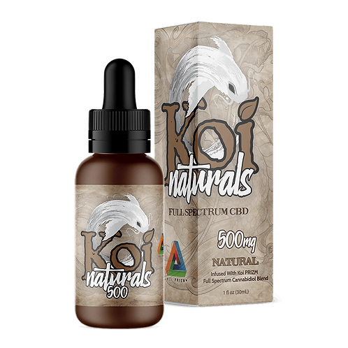 Koi 500mg Broad Spectrum Oil Unflavored