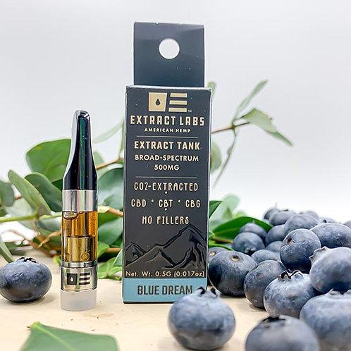 Extract Labs 500mg Vape Cartridge Blue Dream