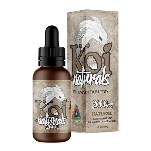 Koi 2000mg Broad Spectrum Oil Unflavored