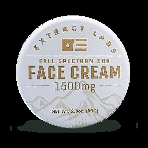 Extract Labs 1500mg/2.8oz Full Spectrum Face Cream