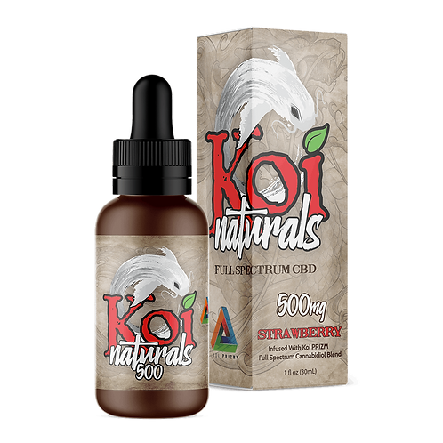 Koi 500mg Broad Spectrum Oil Strawberry