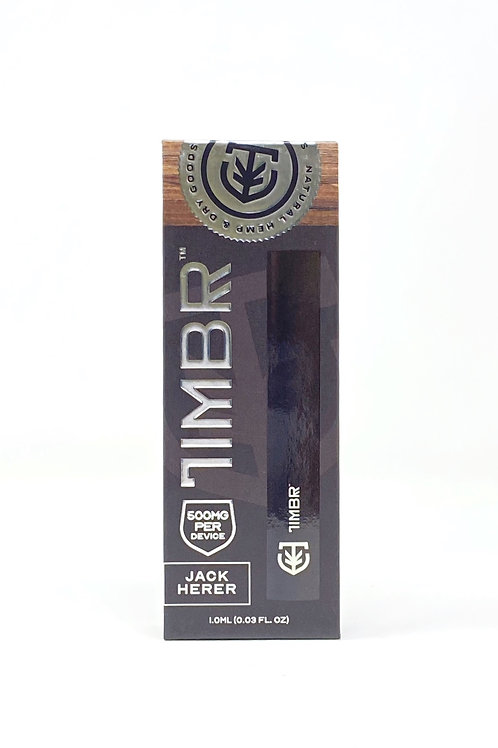 Timbr 500mg/1g Full Spectrum Disposable Vape Jack Herer