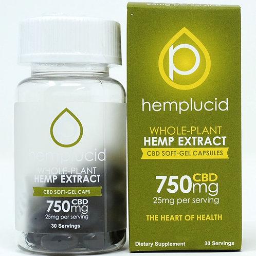 Hemplucid 750mg/30ct Full Spectrum Capsules