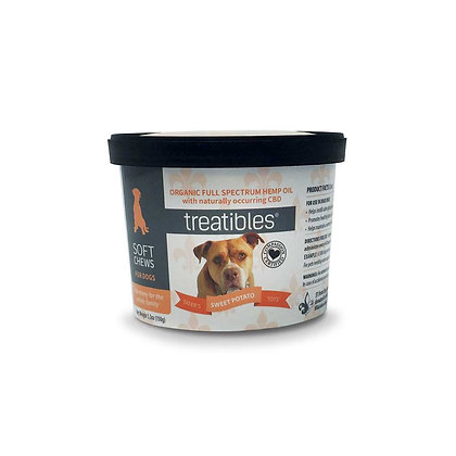 Treatibles Sweet Potato Tots Soft Chews for Dogs