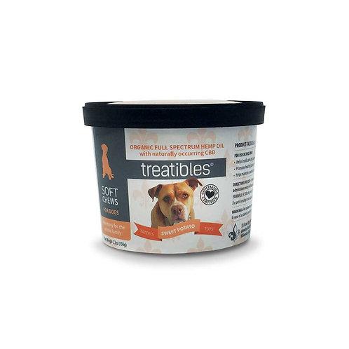 Treatibles Pet 3mg/60ct Full Spectrum Soft Chews Sweet Potato