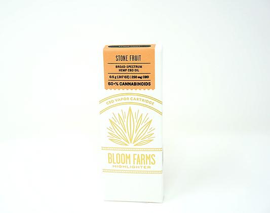 Bloom Farms Stone Fruit Vape Cartridge-250mg CBD
